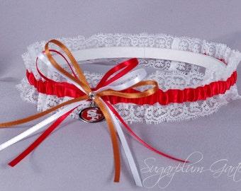 San Francisco 49ers Lace Wedding Garter - Ready to Ship