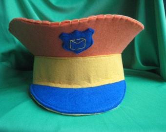 POSTMAN's hat felt baby-handmade