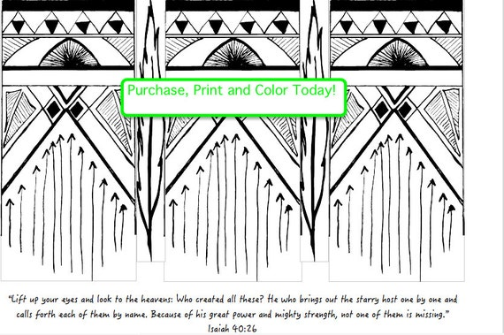 Scripture Adult Coloring Page Isaiah 4026 Bible Verse Relaxation Christian Art Family Activities From TheRefeatheredNest On Etsy Studio