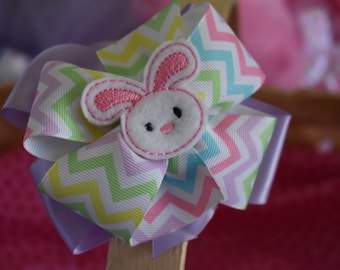 Easter Bunny Bow
