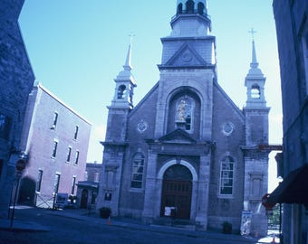 Small Church in Montreal, Blue Hue