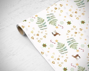 Christmas Wrapping Paper, Gift Wrap, Craft Paper, Christmas Paper, Christmas Wrap, Wrapping Sheets, Christmas Gift, Holiday Gift Wrap,