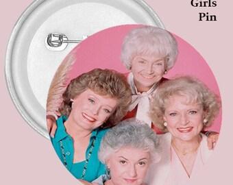 Golden Girls Buttons, 80's, ,80's TV. Cult , Fashion, Accessories, Buttons, Golden Girls