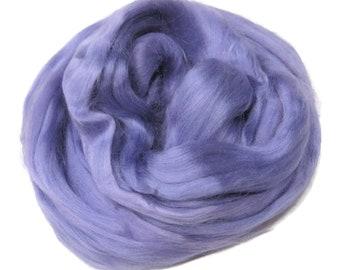 Viscose Fiber for felting ,spinning, paper making and art batts . color: Lavender