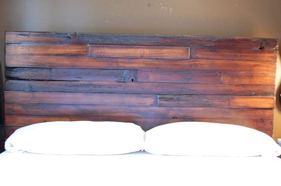 The Chad Queen Reclaimed Wormy Fir Bed