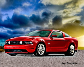 Today's Classic Car - 2012 Ford Mustang GT 5.0 - A10