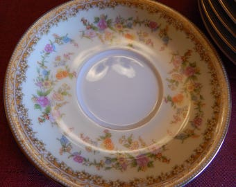 NORITAKE CHINA 712 MEDEAN---1 Tea Saucer---Replacements