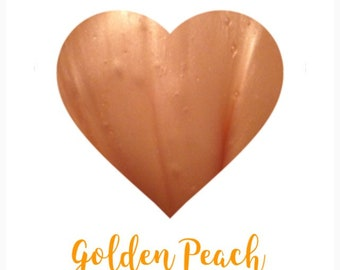 Golden Peach 6oz Clear Slime