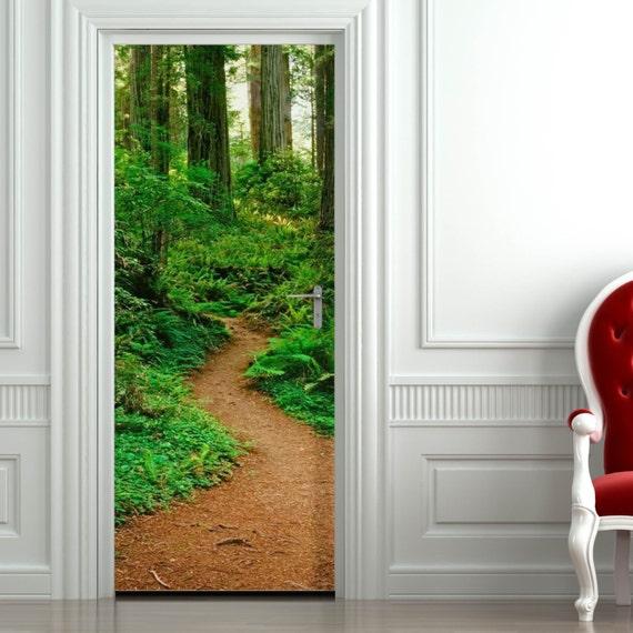 Custom door decal print personalised door decor picture photo source sticker printable door sign glossy matt decals door decorations
