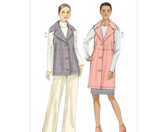 Vogue V9065 Size 8-16 or 16-24 Misses Vest, Skirt & Pants Sewing Pattern / Uncut/FF