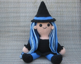 Amigurumi Witch Crochet Pattern