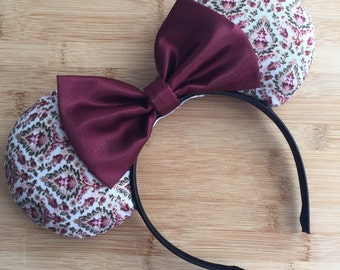 Grand Floridian Ears, Grand Floridian Inspired Ears, The Grand Ears, Hotel Collection, Victorian Mouse Ears, Minnie Ears, Disney Ears