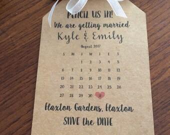 Jason & Courtney Save the dates