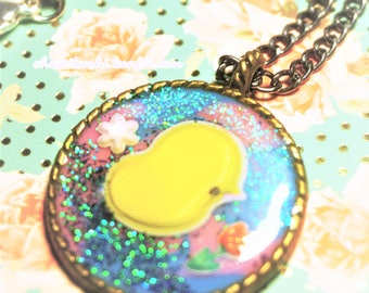 Easter Chick Necklace