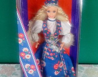 Mattel Dolls of the World Norwegian Barbie Doll