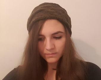 Headband made of virgin wool