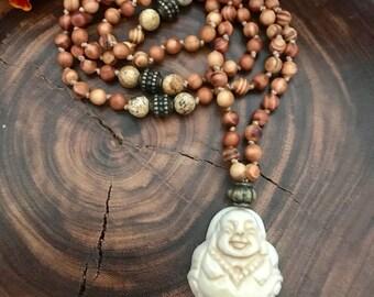 Happy Buddha Mala