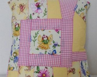 Fairy cushion cover, Fairy cushion, girl's cushion