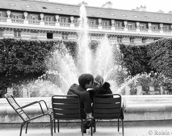 Lovers in Paris, Romantic photo print, Romantic print,  Romantic art, romantic art print, wedding gift, romantic gift, love art love print