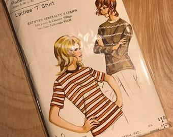 1970's Vintage Kwik Sew Pattern 305