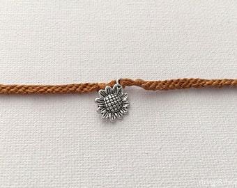 Sunflower Friendship Bracelet