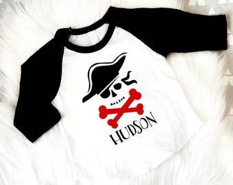 First Birthday, Pirate Birthday, 1st Birthday, Personalized Pirate Birthday Shirt, Birthday Boy,  2nd Birthday, 3rd Birthday, 4th, Birthday