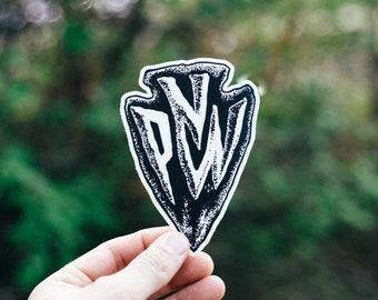 PNW Arrowhead Sticker