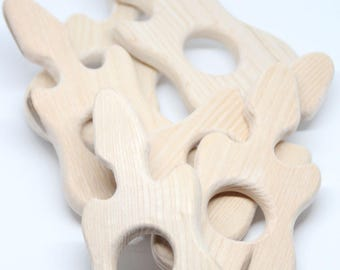 Wooden guitar / Baby teething toy