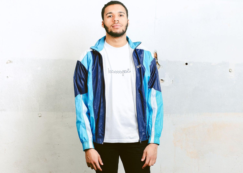 80s nylon jacket
