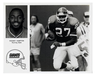 NY Giants-Rodney Hampton Press Photo