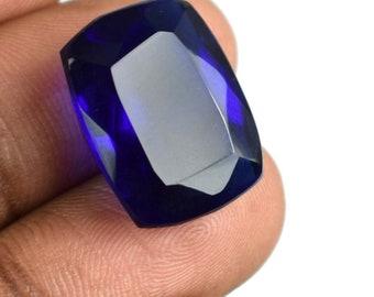 17.05 Ct. Cushion Cut Brazilian Blue Topaz Loose High Quality Gemstone