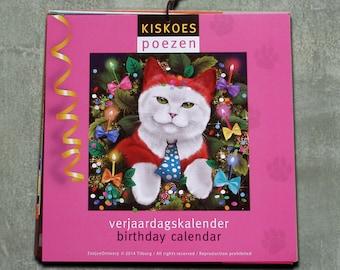 Birthday calendar CATS