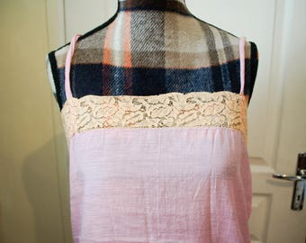 Pink Nightgown or Nightie from the 1940s