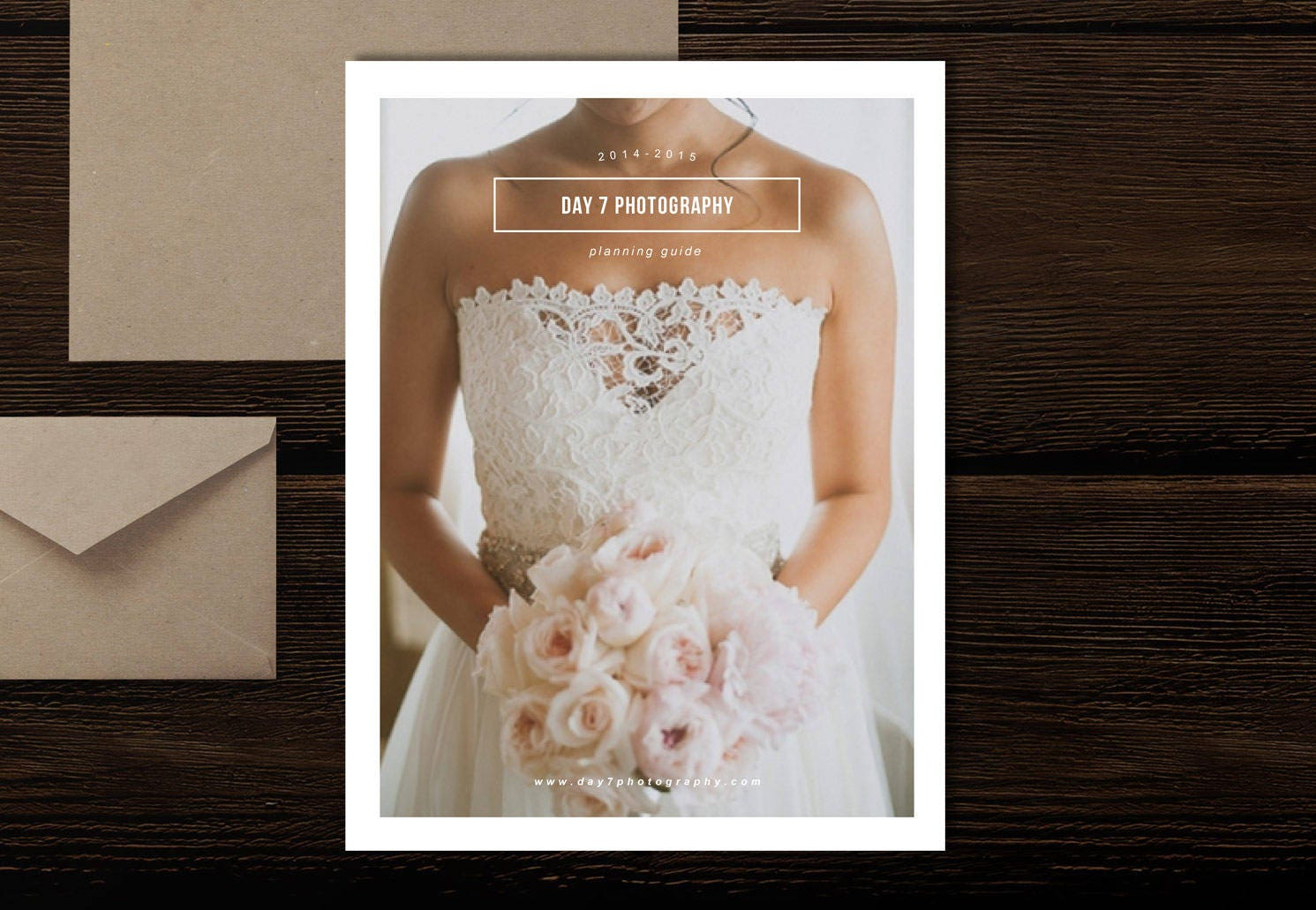 SALE Wedding Photography Magazine Template New Client