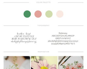 Branding Logo ⨯ Floral Logo ⨯ Premade Logo ⨯ Boutique Logo ⨯ Business Logo ⨯ Pretty Logo ⨯ Hello Beautiful ⨯ Branding Kit ⨯ Blog Logo
