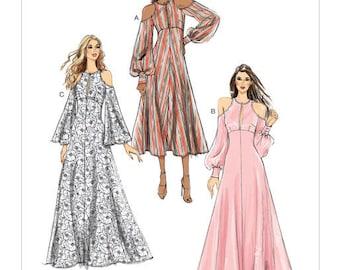 Dress sewing pattern Vogue CustomFit V9296