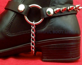 BOOT CHAIN Custom Fit Genuine Leather Top grain