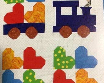 APRILSALE House of White Birches, Quilts for Kids, Vintage 1997, 5 Fun to Stitch Quilts, Pattern Book
