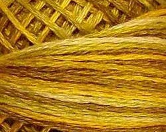 Valdani 3 Strand Cotton Floss - V106 Antique Golds