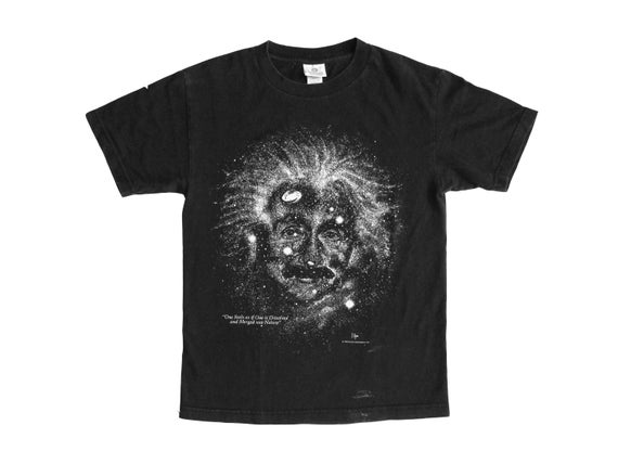 Albert Einstein Glow in the Dark T-Shirt
