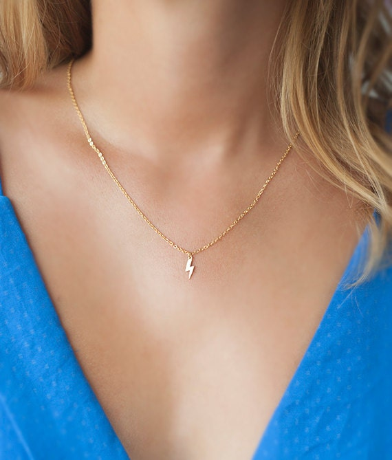 small gold pinterest star on tiny dainty silver necklaces cute necklace ideas s