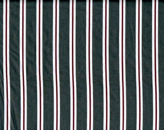 Fabric coal grey red stripes Cotton Fabric House textilies Fabric Scandinavian Design Scandinavian Textile