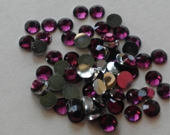 4 or 5mm rhinestone gems flatback round for crafts wedding party 2000pcs/500pcs