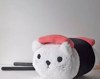 Sushi Cat Handmade Pillow set