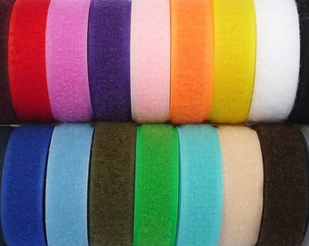 Sew On 20mm Hook and Loop Tape *Shipped From the UK* From 99p/m for both sides