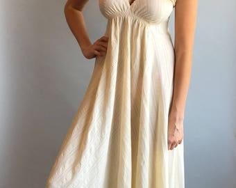VTG 1970s Cotton Day Dress