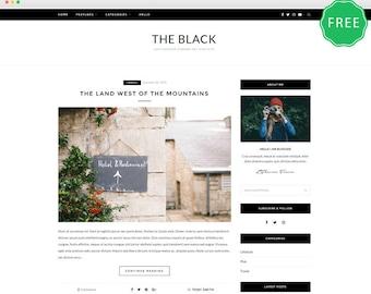 ZBlack Lite - A Responsive WordPress blog theme.