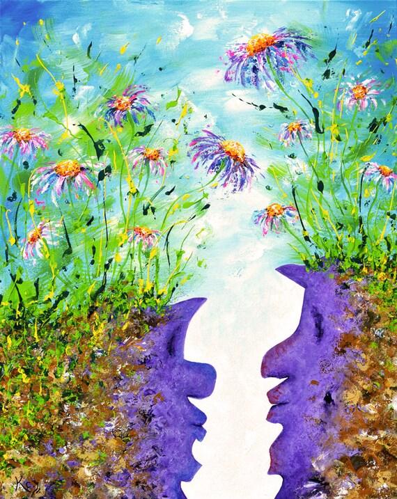 Between Painting
