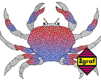 Adult Coloring Page CRAB This Of For Adults