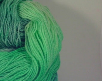 "Superwash Merino Sock Yarn - Bitsy's Sock handpainted colorway ""Little Lambs Eat Ivy"""